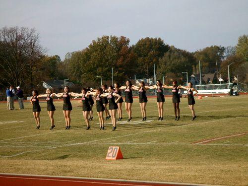 Rhodes cajun game dance squad