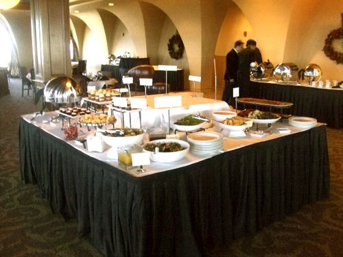 Buffet Table 1