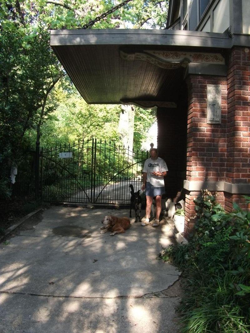 Zoe and backyard 024