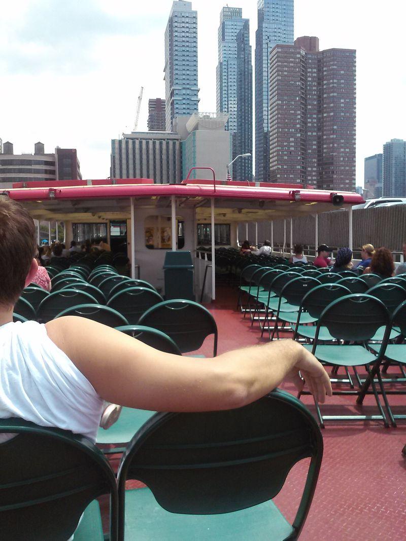 Ny liberty cruise boat view