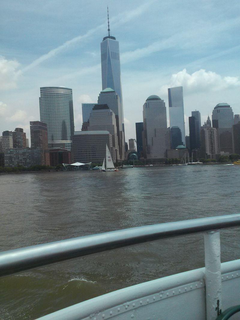 Ny liberty cruise buildings