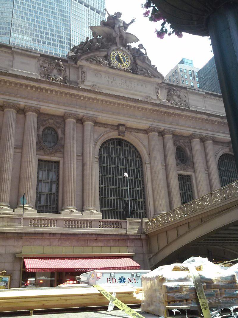 Ny grand central station exterior