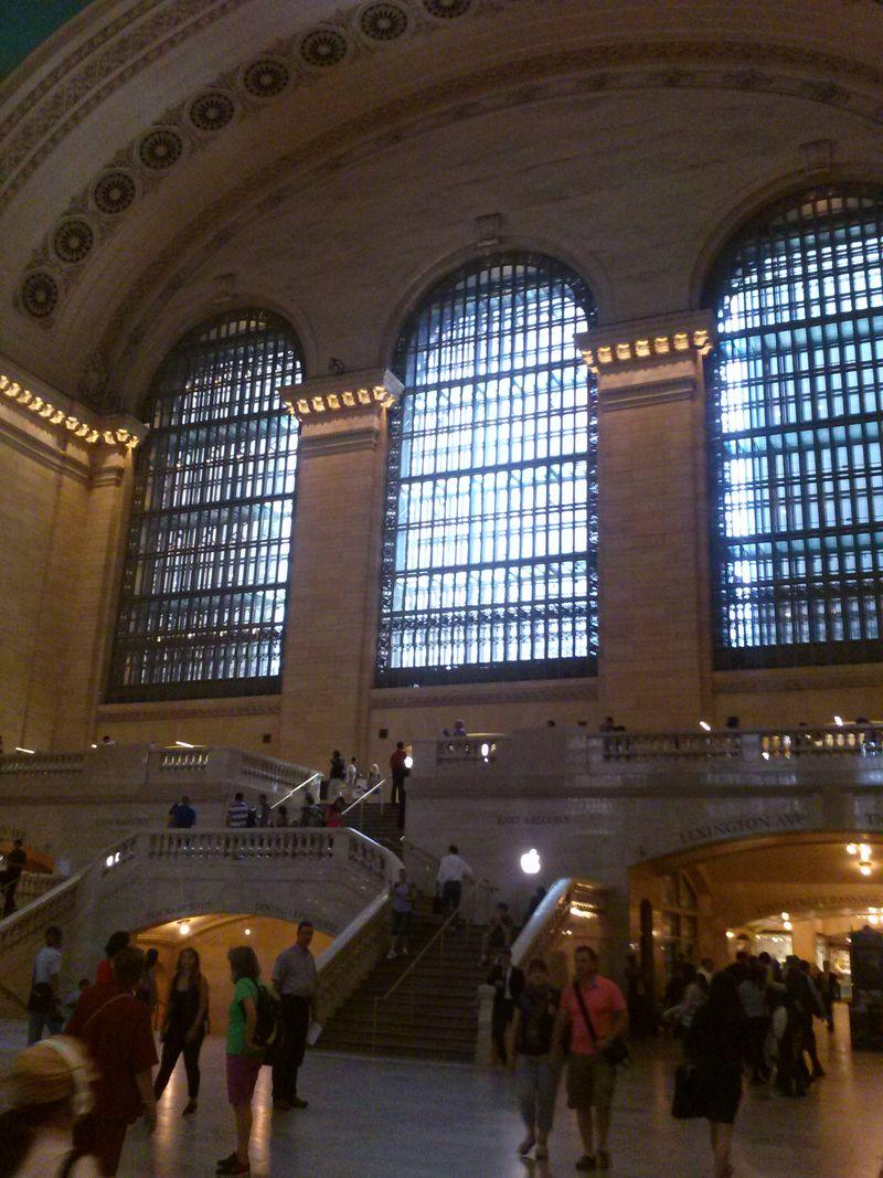 Ny grand central station windows